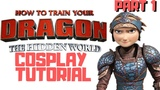 Astrid Armour Cosplay p1. (HTTYD 3 Cosplay Tutorial)