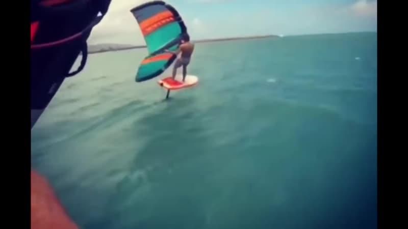 Naish Wingsurfer - небольшой тизер - Robby Naish