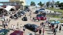 ВКрыму устроили фестиваль ретроавтомобилейпрямо нагоре Ай Петри Новости Первый канал