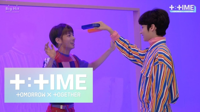 [TTIME] MAKNAEs play with a magnet - TXT (투모로우바이투게더)