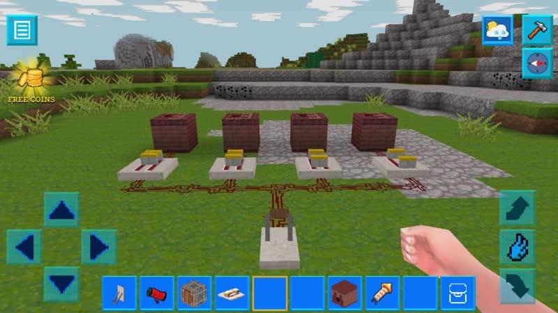 PrimalCraft (with Skins Export to Minecraft) - Как использовать повторитель