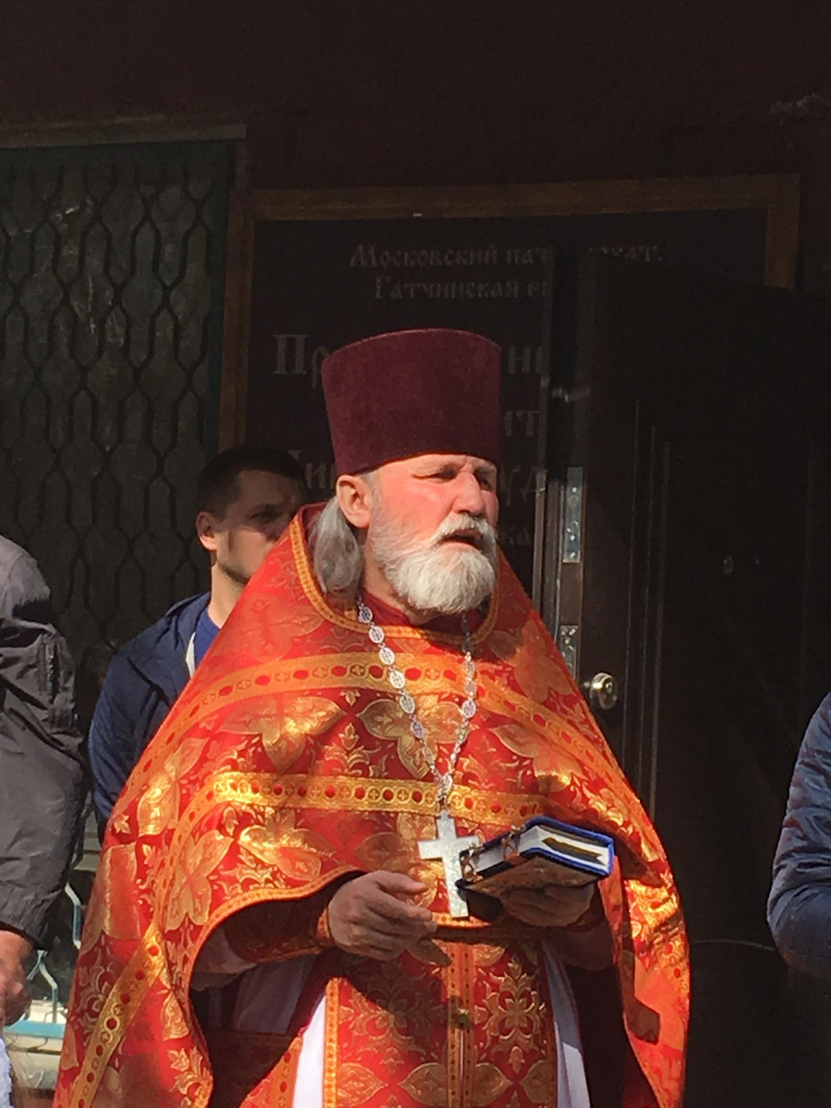 Крестный ход в Лукашах