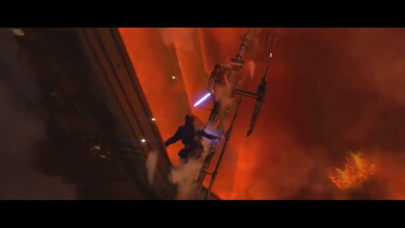 Звездные Войны Энакин Скайуокер против Оби Вана Кеноби