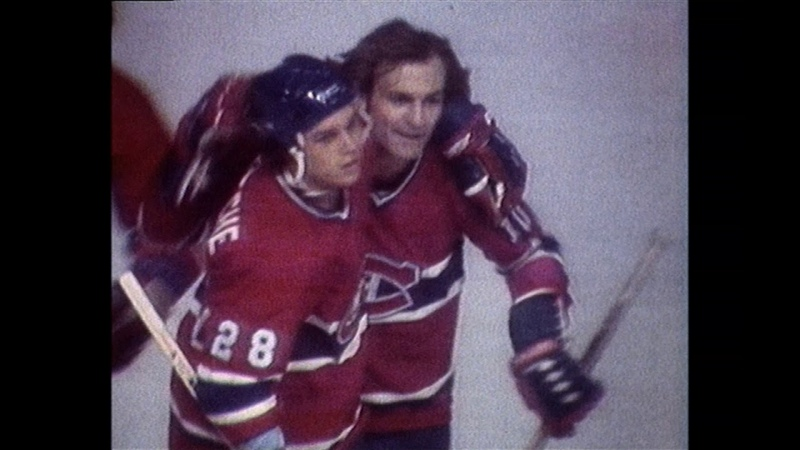 1978 playoffs - Canadiens vs Red Wings Game 4 highlights