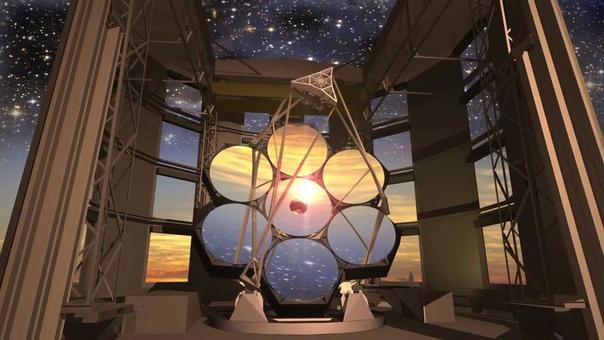 Гигантский Магелланов телескоп GMT это следующее поколение гигантских наземных телескопов, обещающий изменить наше мнение о Вселенной Он будет построен в обсерватории Лас-Кампанас, в Чили. Ввод