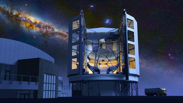 Гигантский Магелланов телескоп GMT это следующее поколение гигантских наземных телескопов, обещающий изменить наше мнение о Вселенной