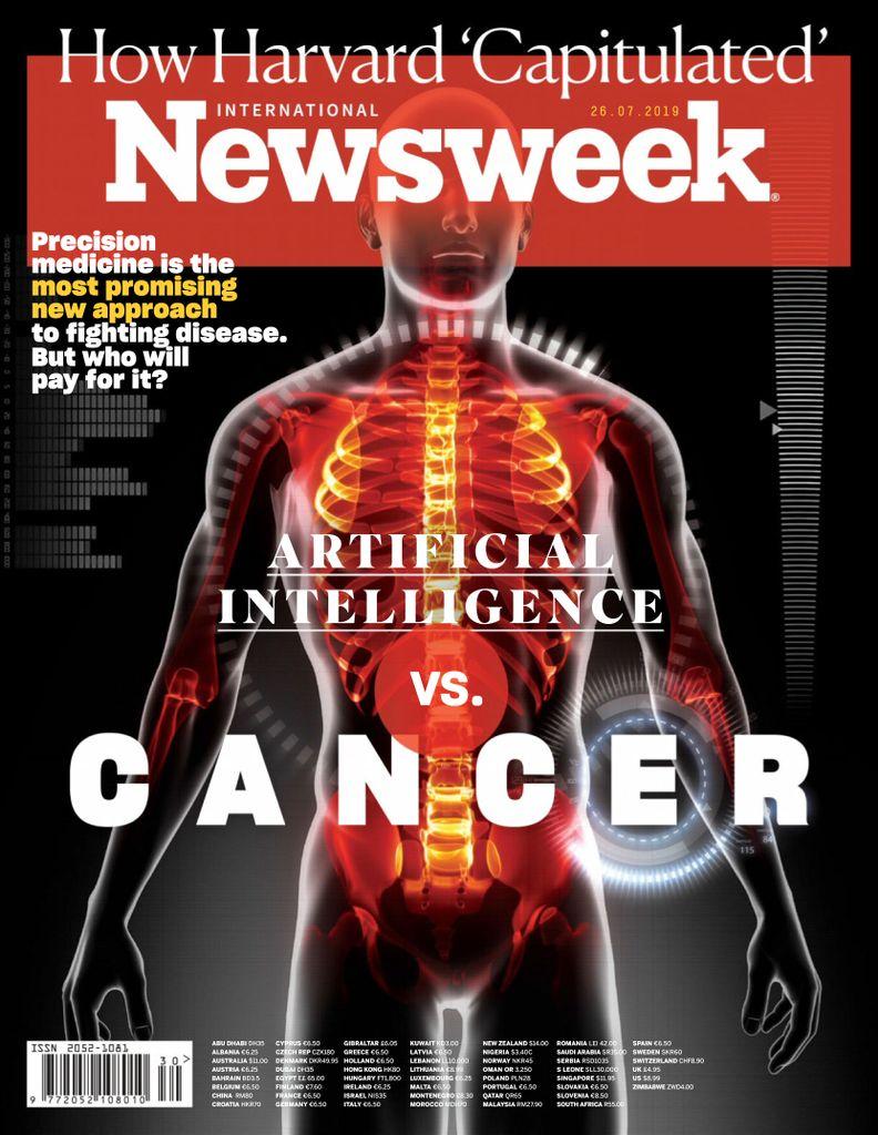 Newsweek International - 26 July 2019