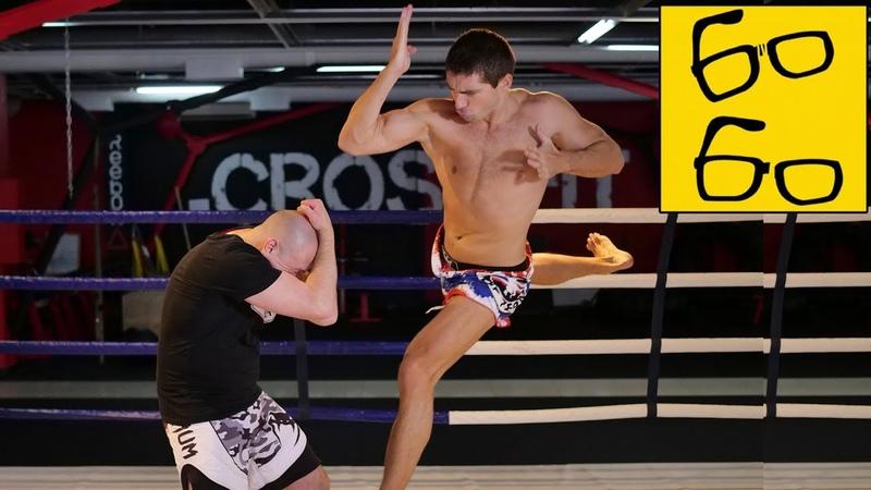Как бить локтями в муай тай? Удары локтями в тайском боксе и локоть Супермена от Виталия Дунца