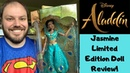 Live Action Aladdin Movie 2019 Princess Jasmine Disney Limited Edition Doll Review