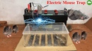Electric Mouse Trap/Homemade Electric Mousetrap Work With Battery 12V/Tip Mouse Rat Trap