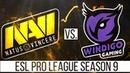 NaVi vs Windigo Highlights - ESL Pro League Season 9 /BEST MOMENTS