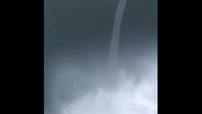 Such amazing waterspout in Marathon, Florida!