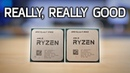 REALLY GOOD: My Ryzen 9 3900X and Ryzen 7 3700X Review and Benchmarks!