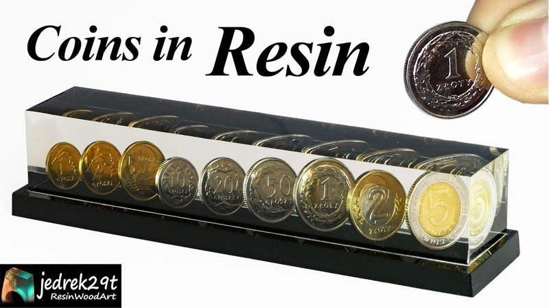 DIY Coins in Epoxy Resin ART RESIN