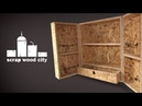 DIY OSB hanging cabinet quick and dirty