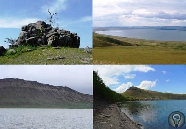 МЕГАЛИТЫ ОЗЕРА ШИРА, Хакасия, Россия. Около озера Шира в Хакасии находятся интересные мегалиты камни причудливых форм и больших размеров, которым уже несколько тысяч лет. Одна из их