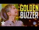 Singing Sensation Celine Tam Gets GOLDEN BUZZER On World's Got Talent 2019! | Got Talent Global