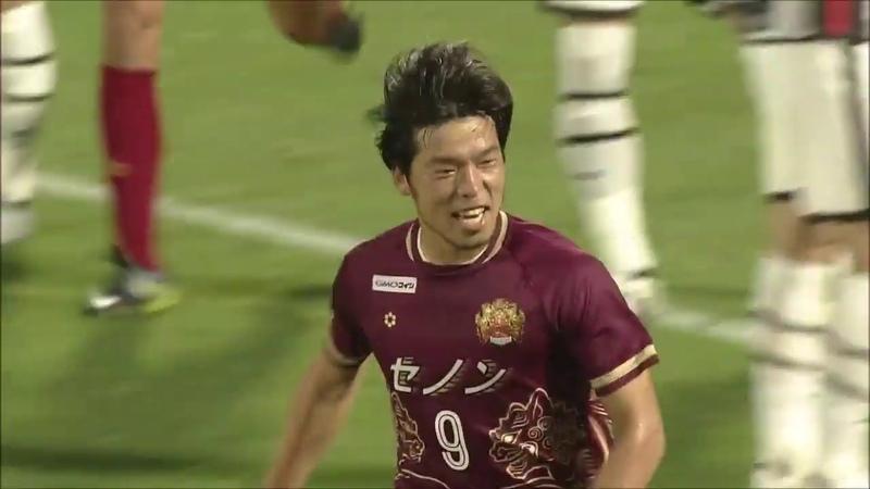 【公式】ゴール動画:鈴木 孝司(琉球)89分 FC琉球vsレノファ山口FC