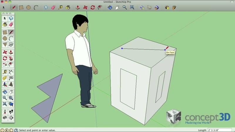 SketchUp Tips and Tricks Click-Release-Click vs. Click-Drag-Release