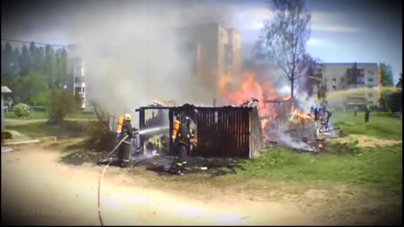 В Полоцке при пожаре поврежден жилой дом Беларусь