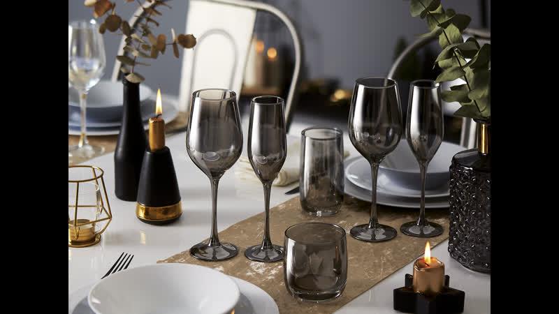 Набор бокалов для вина Luminarc Celeste Shiny Graphite Селест Сияющий Графит