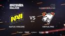 Natus Vincere vs Virtus.pro, EPICENTER Major 2019 CIS Closed Quals , bo5, game 1 [Mael Smile]
