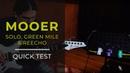 MOOER Solo Distortion Green Mile ReEcho Quick Test Marcelo Rosa