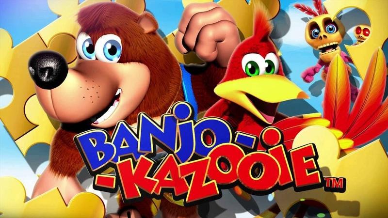 Busta Rhymes Plays Banjo Kazooie