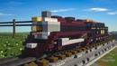 Minecraft Frisco 1522 Steam Engine Train Tutorial