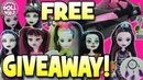 Huge Monster High Doll Giveaway Win Fabulous Prizes