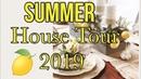 SUMMER HOUSE TOUR 2019 COASTAL DECOR LEMON DECOR ANSWERING MOST ASKED QUESTIONS
