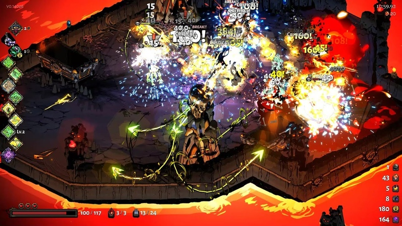 I am the bullet hell - Hades Adamant Rail with x2 Legendary boons