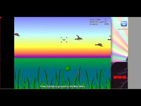 DUCK BLITZ Review PC Game Free Games Shareware Linux Windows 10 Ubuntu 18.04 LTS JULinux 17 Gameplay