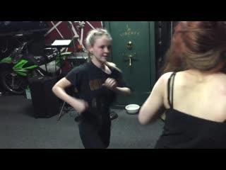 girl fight Hailey vs Jena round2