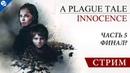 A Plague Tale Innocence 5 - Финал СТРИМ