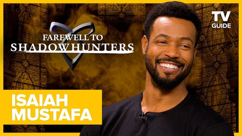 Farewell to Shadowhunters Isaiah Mustafa Talks Racy Bloopers with Matthew Daddario