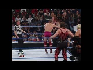 WWF SmackDown  - the Rock & Undertaker vs Rikishi, William Regal & Kane