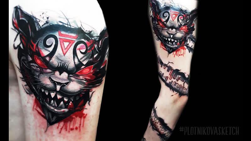 Эскизы тату на заказ   Татуировка по индивидуальному эскизу plotnikovasketch
