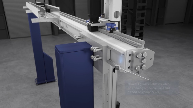 New modular axis- and gantry system – the Linear Gantry Robot LGR-3