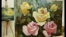 Пишем розы Мастер классы Вугара Мамедова