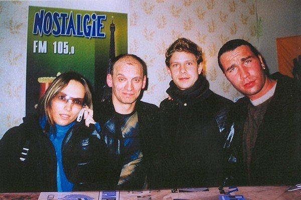 Фотографии 90-х (Известные люди).