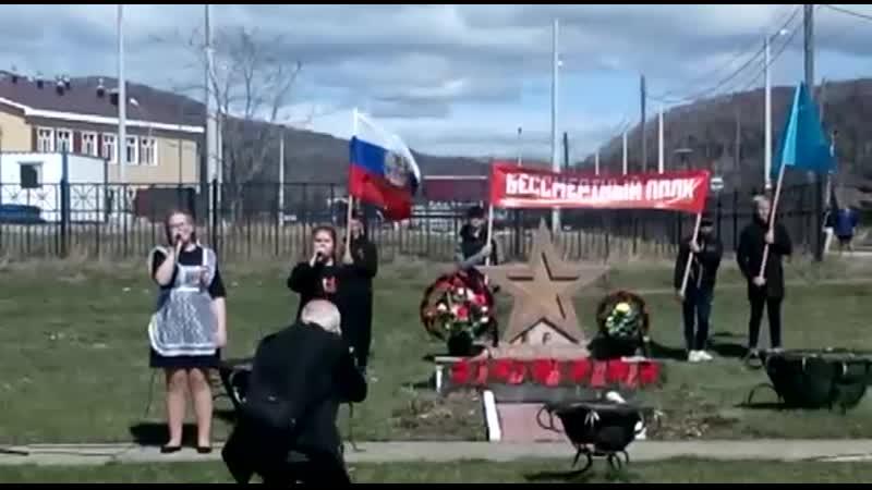 Александра Харламова и Полина Малютина - Верните Память 9 05 2019э