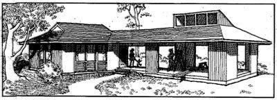 Модульный загородный дом.
