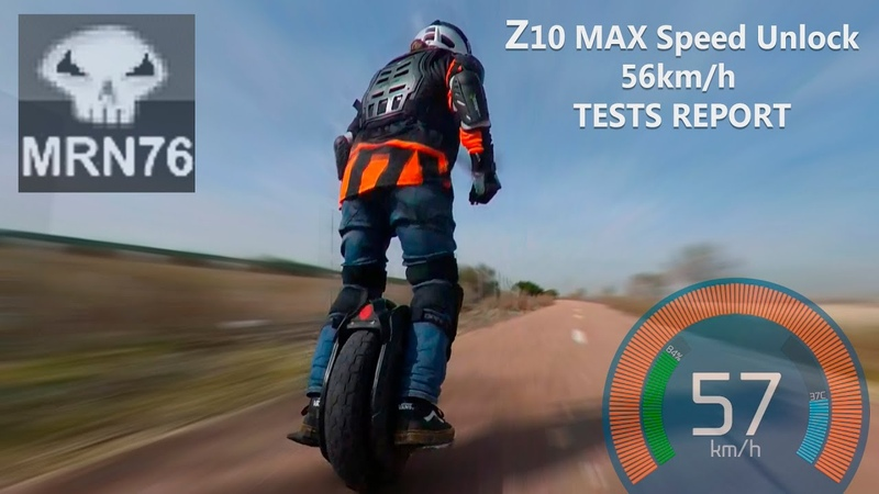 Ninebot Z10 Z10 MAX SPEED UNLOCK TO 56km h TESTS REPORT