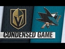 Vegas Golden Knights vs San Jose Sharks Mar 18 2019 Game Highlights NHL 2018 19 Обзор матча