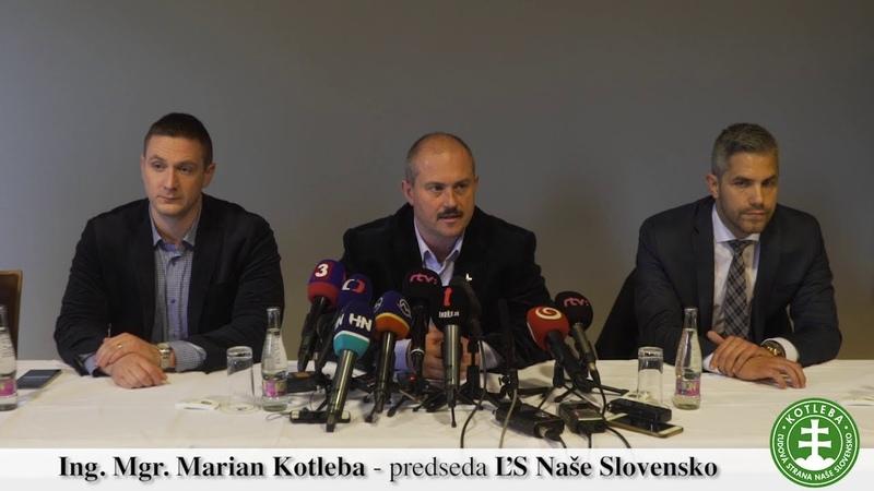 Najvyšší súd odmietol zrušenie ĽS Naše Slovensko Reakcia vedenia strany po vynesení rozsudku
