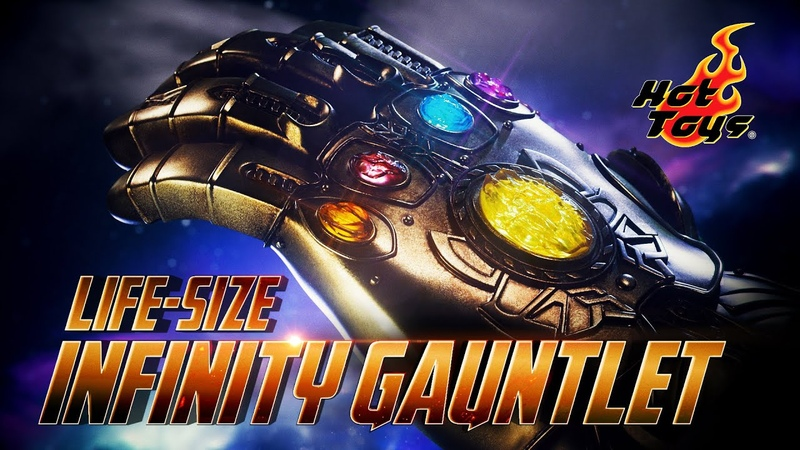 Infinity Gauntlet Life-Size Replica by Hot Toys