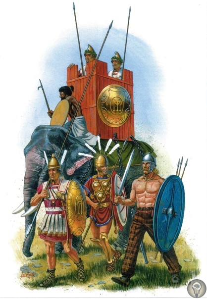 Древняя Греция: танки древности, наводившие ужас на врагов