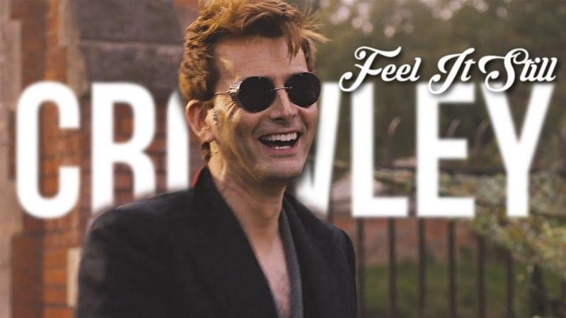 Crowley Rebel Just For Kicks Good Omens