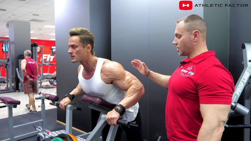 Тренировка мышц спины. Ширина Толщина. Андриан Волошин